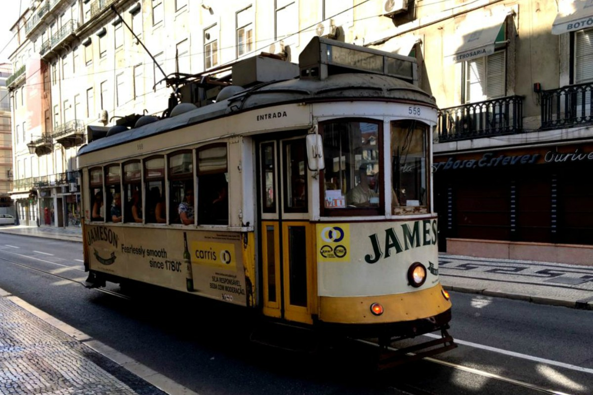 A ride on tram No. 28 through Lisbon