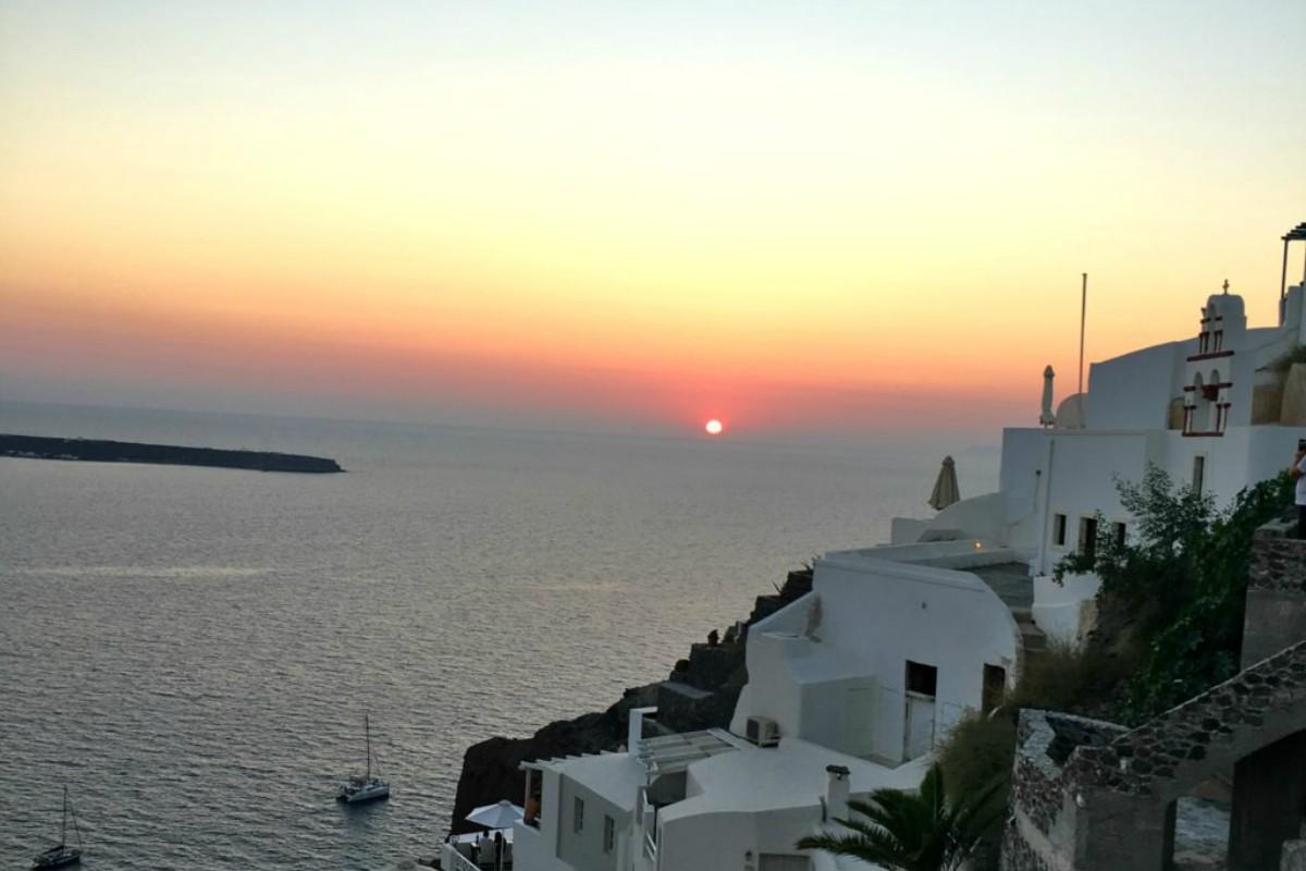 Zalazak sunca Oia