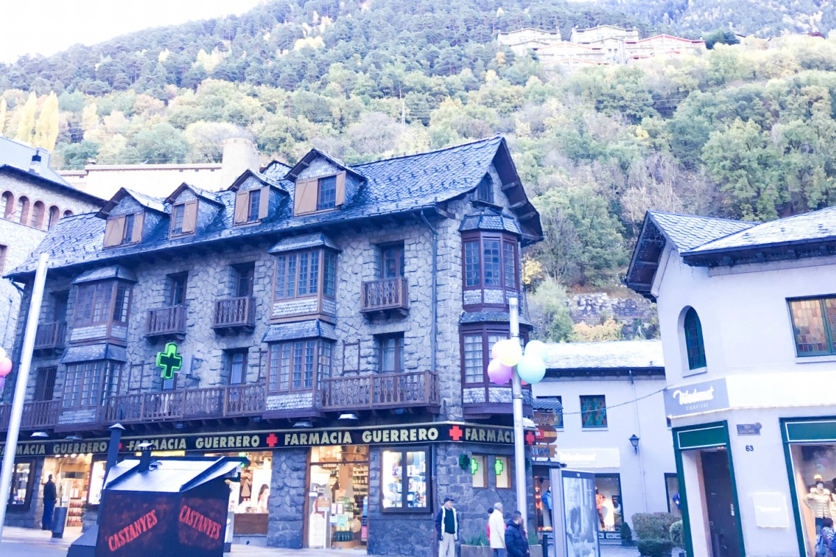 All the colors of Andorra la Vella