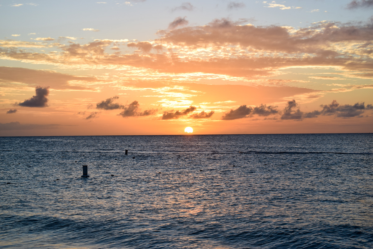 Zalazak sunca na plaži Eagle