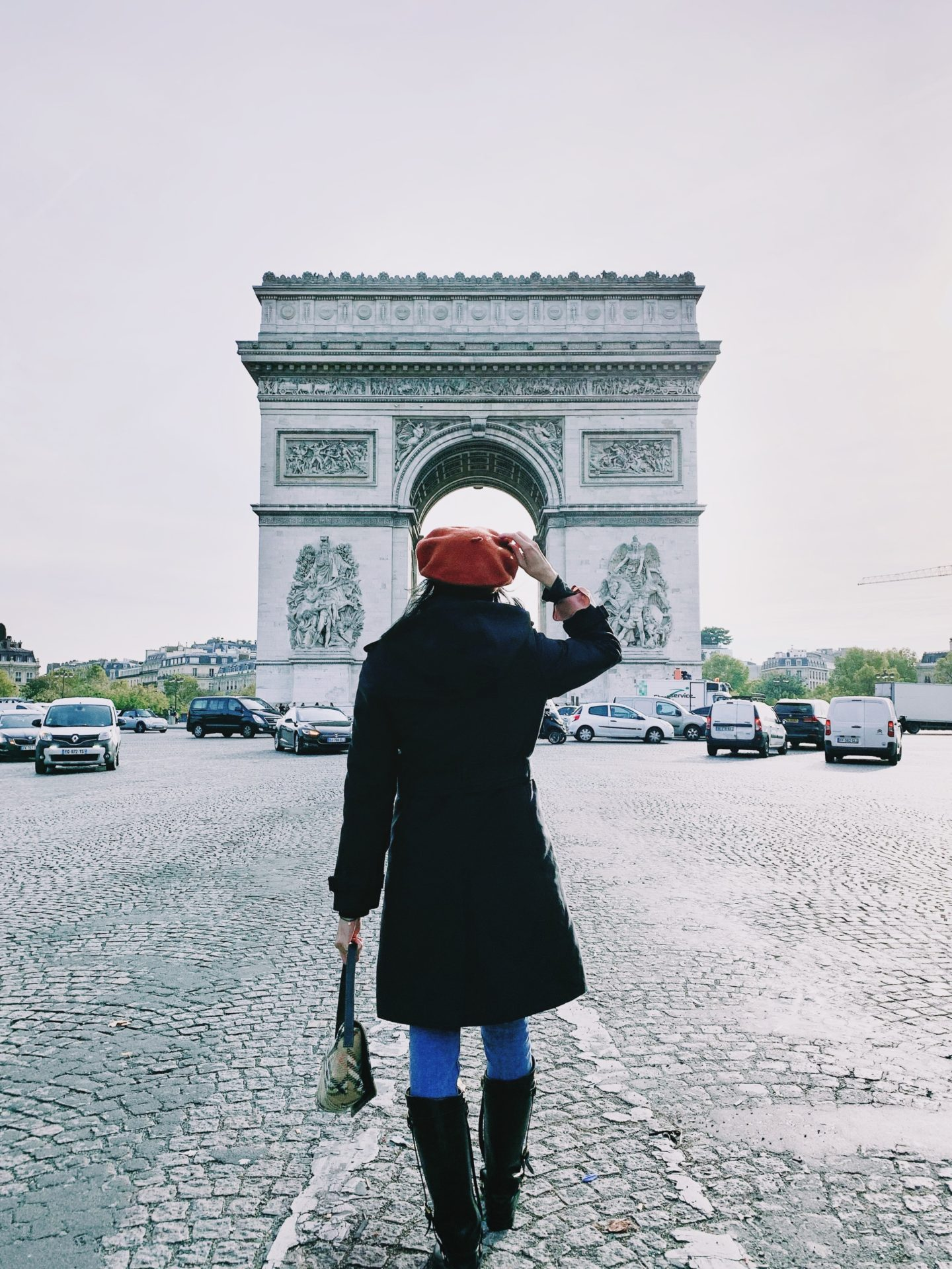 The Triumphal Arch, the most instagrammable places in Paris