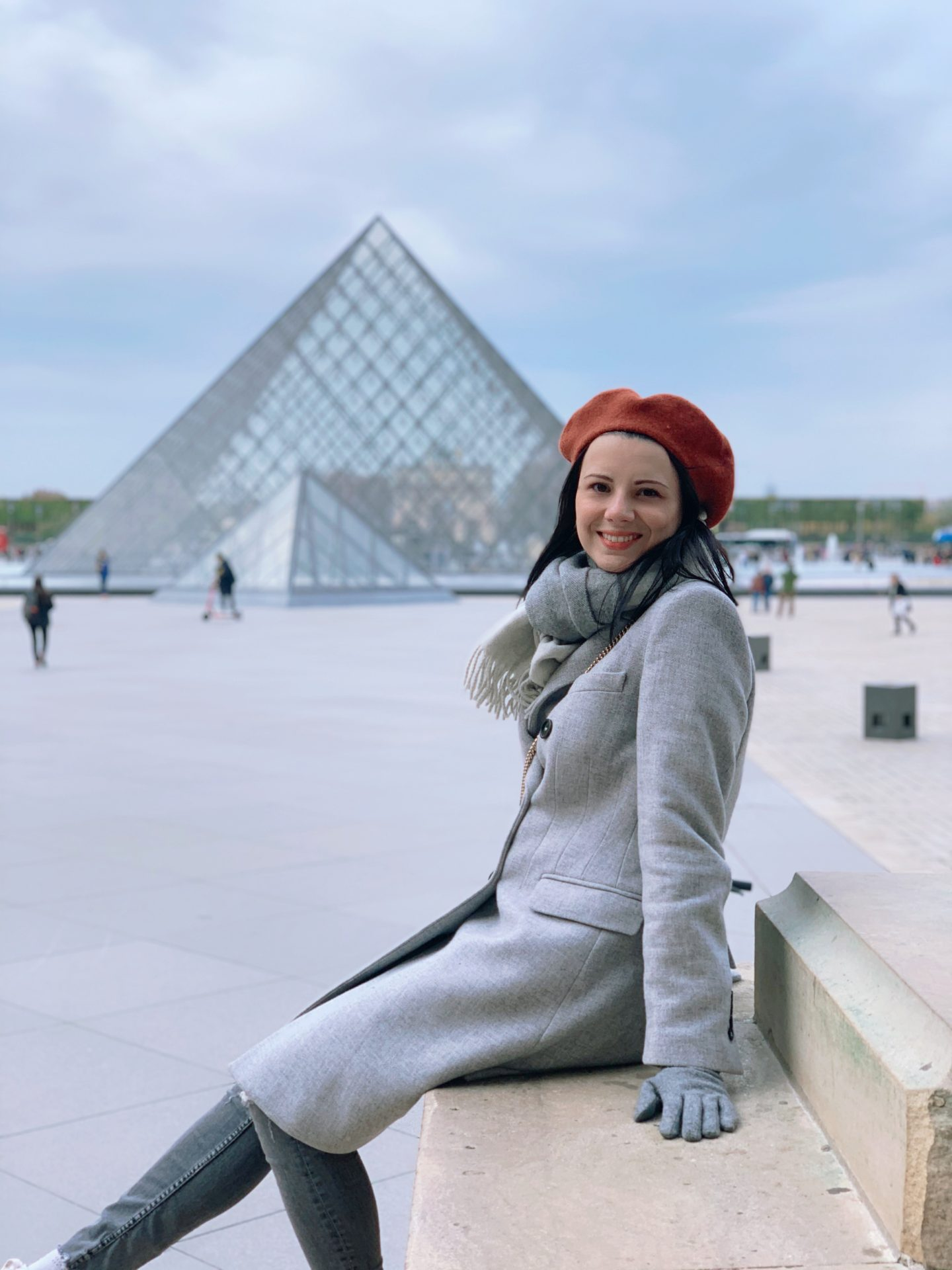 The Louvre museum, the most instagrammable places in Paris