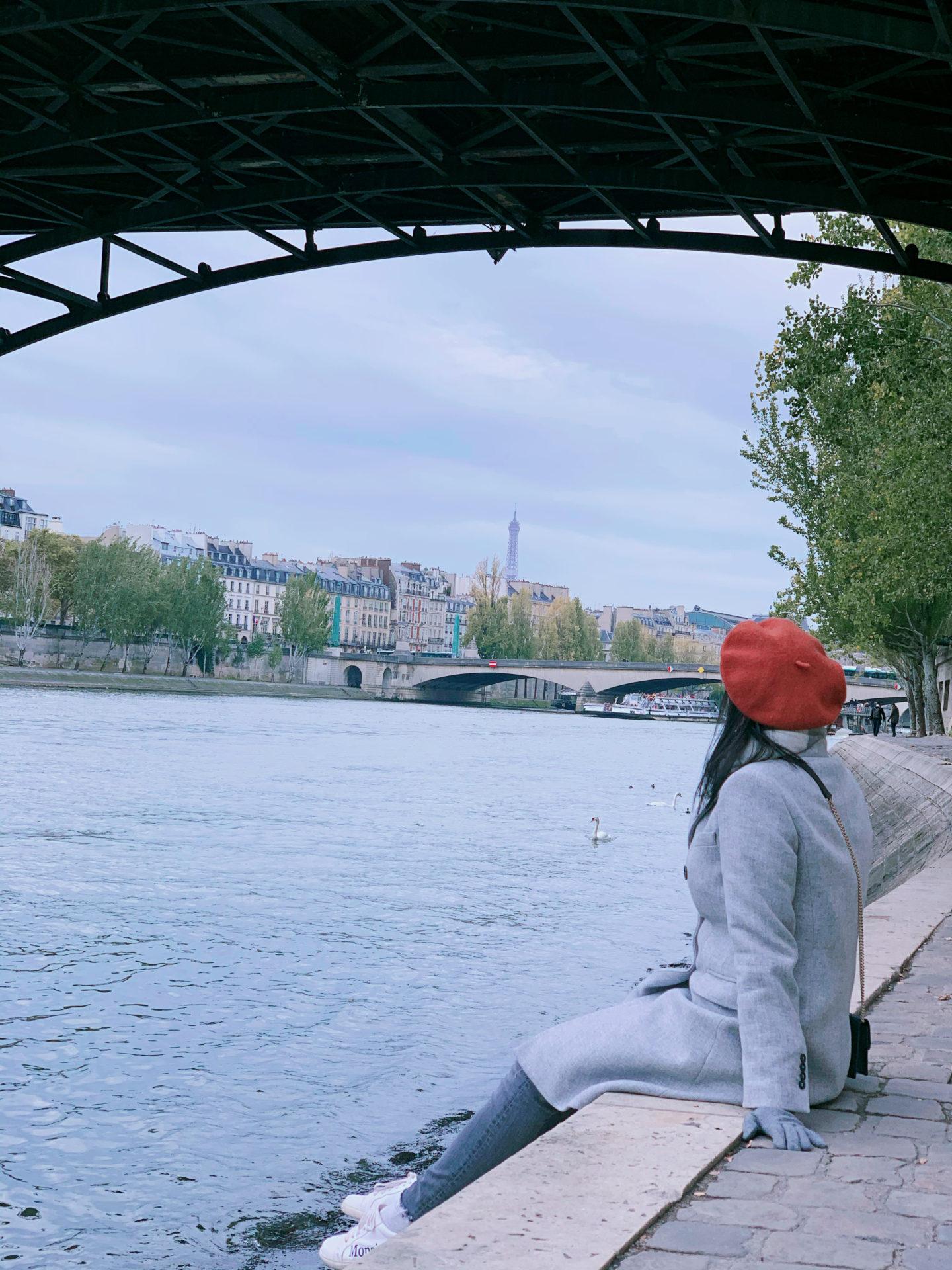 RIver Seine Quay