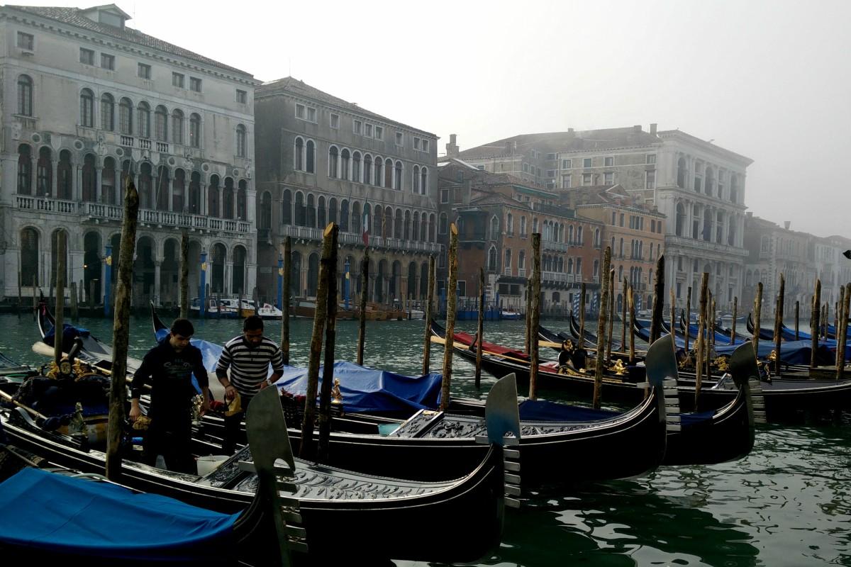 Su majestad, Venecia