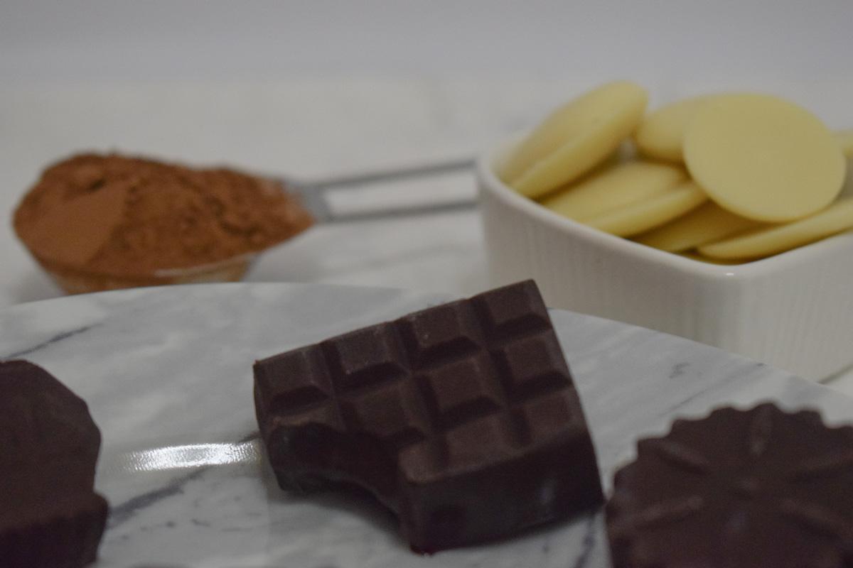 Irresistibles pralinés de chocolate con manteca de cacao